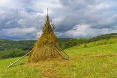 Het fantastische landschap van het dagplatteland Royalty-vrije Stock Afbeelding