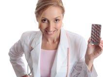 Het farmaceutische medicijn van de arts Royalty-vrije Stock Afbeeldingen