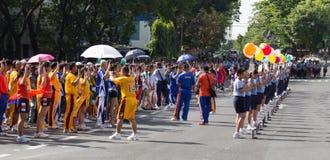 Het feest 2012 van de Sport PNP Royalty-vrije Stock Foto's