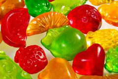 Het feest fruit candyinking Stock Fotografie