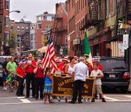 Het Feest van heilige Anthonyâs - Weinig Italië, Boston Stock Foto