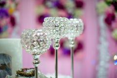 Het feest van het decoratiehuwelijk Royalty-vrije Stock Fotografie
