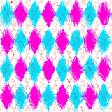 Het feestelijke geruite patroon van Grunge vector illustratie