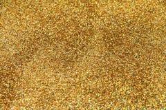 Het feestelijke goud schittert achtergrond Stock Afbeelding