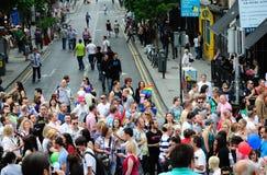 Het Festival 2010 van de Trots van Dublin LGBTQ Royalty-vrije Stock Afbeeldingen