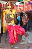 Het Festival 2012 van Thaipusam: De totale Pelgrim van de Toewijding Royalty-vrije Stock Afbeeldingen