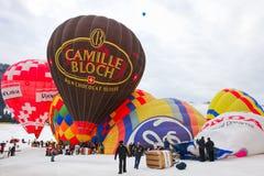 Het Festival 2012, Zwitserland van de Ballon van de hete Lucht Stock Afbeelding