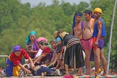 Het Festival 27 April 2009 van Sa Mactan van Kadaguan Stock Foto's