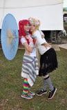 Het festival Animes van Lolitas Royalty-vrije Stock Afbeeldingen
