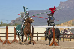 Het Festival Jousting van de Renaissance van Arizona Royalty-vrije Stock Afbeeldingen