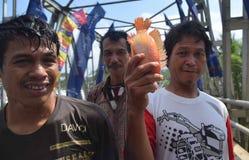 Het festival Serayu van de Iwaktussenruimte Stock Foto's