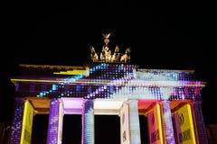 Het Festival van Berlijn van Lichten Royalty-vrije Stock Afbeelding
