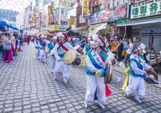 Het Festival van Busanjagalchi royalty-vrije stock foto