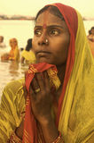 Het Festival van Chatt in India royalty-vrije stock foto