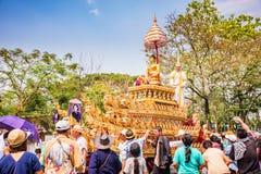 Het festival van Chiangmai Songkran stock foto's