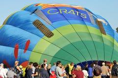 Het Festival van de Ballon en van de Wijn van Temecula Royalty-vrije Stock Foto