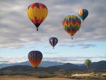 Het Festival van de Ballon van Montague stock foto's