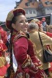 HET FESTIVAL VAN DE DANS CARIVAL VAN DE SAMBA Royalty-vrije Stock Afbeelding