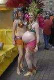 HET FESTIVAL VAN DE DANS CARIVAL VAN DE SAMBA Stock Fotografie