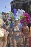 HET FESTIVAL VAN DE DANS CARIVAL VAN DE SAMBA Stock Afbeelding