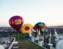 Het Festival van de de Hete Luchtballon van Albuquerque Royalty-vrije Stock Foto