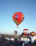 Het Festival van de de Hete Luchtballon van Albuquerque Stock Foto's