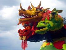 Het festival van de draak Stock Foto's