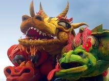 Het festival van de draak Stock Afbeeldingen