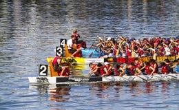 Het festival van de draakboot Royalty-vrije Stock Foto's