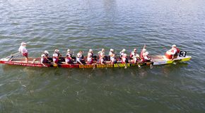 Het festival van de draakboot Royalty-vrije Stock Afbeeldingen