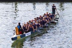 Het festival van de draakboot Stock Foto