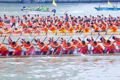 Het festival van de draakboot in Guangzhou China Stock Foto's