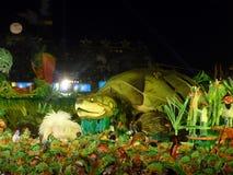 Het Festival van de Folklore van Parintins Stock Afbeelding