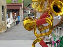 Het Festival 2018 van de Gucatrompet royalty-vrije stock foto