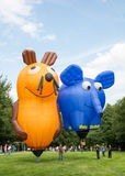 Het Festival van de hete luchtballon Stock Fotografie