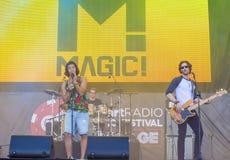 Het Festival van de IHeartRadiomuziek Royalty-vrije Stock Afbeeldingen