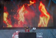 Het Festival van de IHeartRadiomuziek Stock Foto
