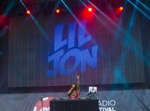 Het Festival van de IHeartRadiomuziek Stock Fotografie