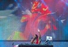 Het Festival van de IHeartRadiomuziek Royalty-vrije Stock Foto's