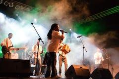 Het Festival van de Jazz van Kriol op 14 April, 2011 royalty-vrije stock foto's