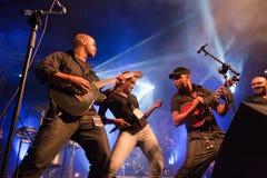 Het Festival van de Jazz van Kriol op 14 April, 2011 stock afbeelding