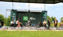 Het Festival van de Jazz van Toronto stock fotografie