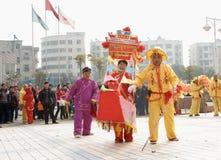 Het festival van de lantaarn Royalty-vrije Stock Foto