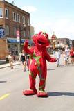 Het festival van de mascotte stock foto's