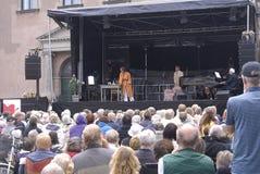 HET FESTIVAL VAN DE OPERA DENMARK_COPENHAGEN Stock Afbeelding