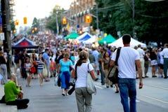 Het festival van de straat Stock Foto's