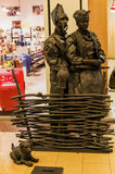 Het festival van de straatkunst in Dafi Kharkiv Royalty-vrije Stock Foto