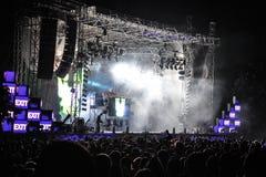 Het festival 2013 van de UITGANGSmuziek Royalty-vrije Stock Afbeelding