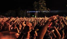 Het festival 2013 van de UITGANGSmuziek Stock Afbeeldingen