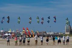 Het Festival van de vlieger Stock Foto's
